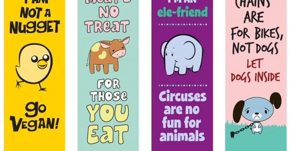 PETA Kids Bookmarks
