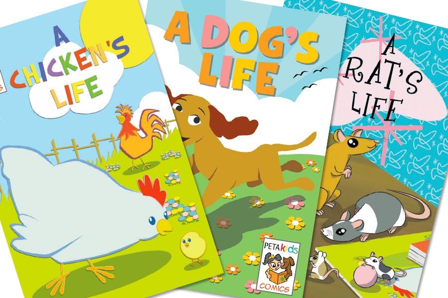 PETA Kids Print Comic Books
