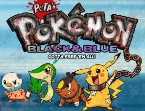 Play PETA's Pokémon Parody Game