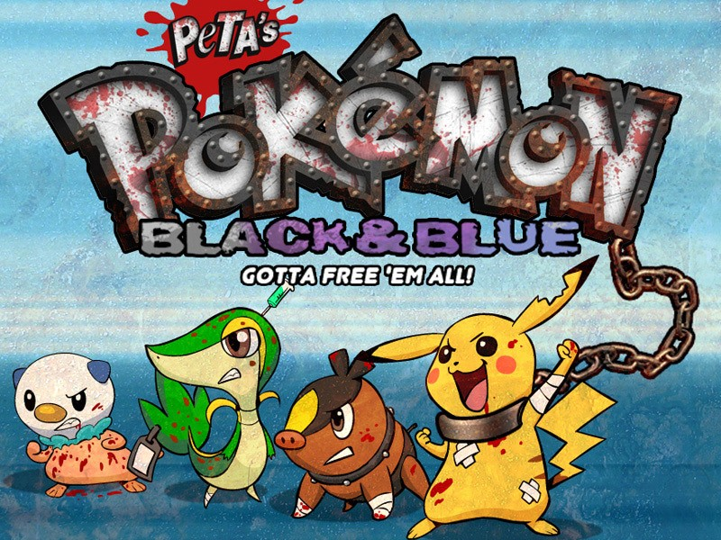 Pokemon Parody Black and Blue