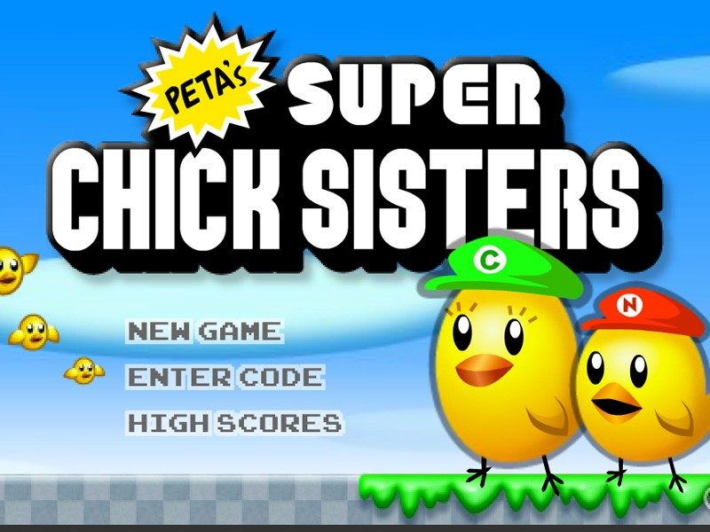 super chick sisters games peta kids