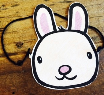 Make Your Own Easter Bunny Mask