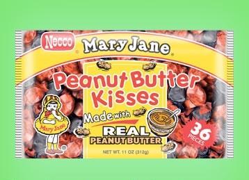 Besos de mantequilla de cacahuete de Mary Jane
