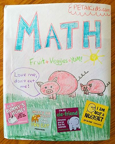 diy book cover step 5
