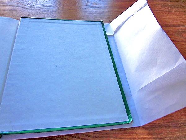 diy book cover step 3