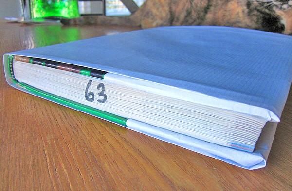 diy book cover step 4