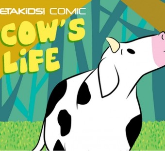 'A Cow's Life' Comic Book