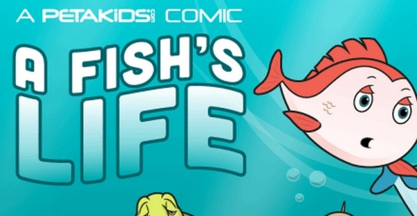 A Fish's Life Comic Cover
