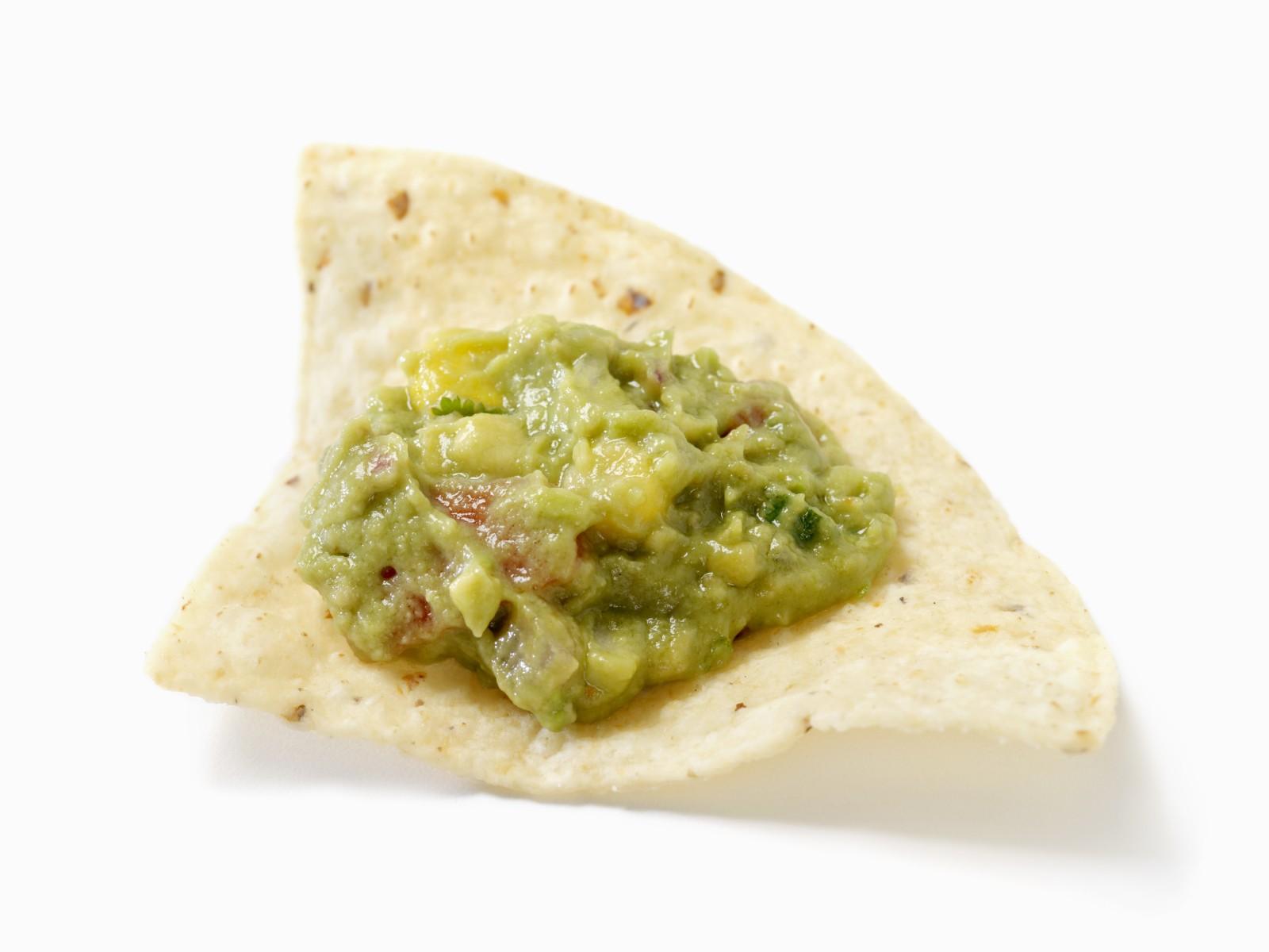 Tortilla Chip with Guacamole