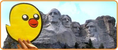 Nugget at Mount Rushmore