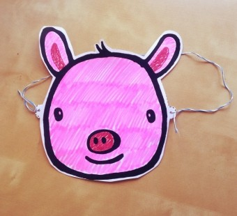 Make Your Own Pig Mask