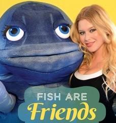 Renee Olstead Sticks Up for Fish!
