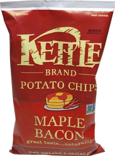 Kettle Brand Potato Chips Maple Bacon