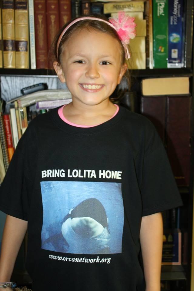 Maeve Wolski With Orca Shirt