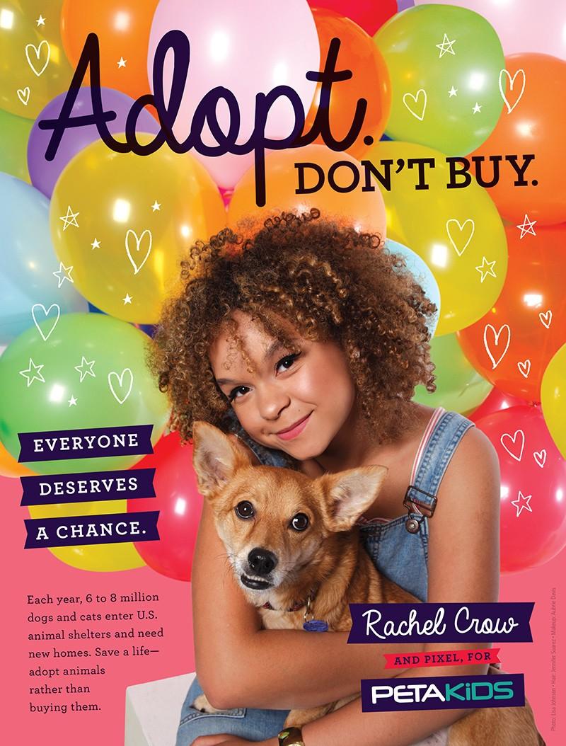 Rachel Crow Adopt Don't Buy PSA