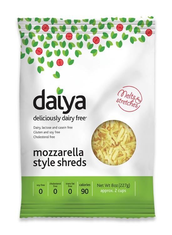 daiya Mozzarella Shreds