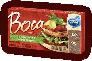 Boca Vegan Burger