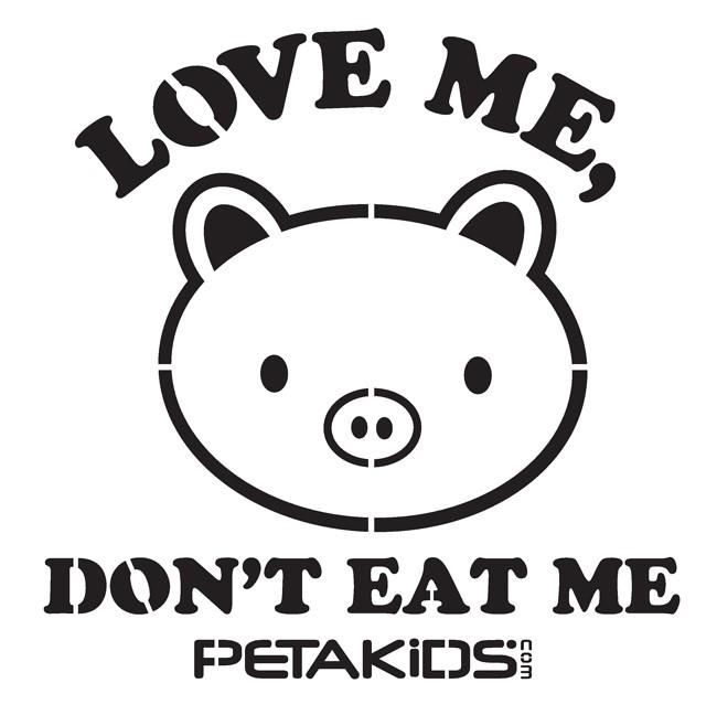 Don't Eat Me Stencil