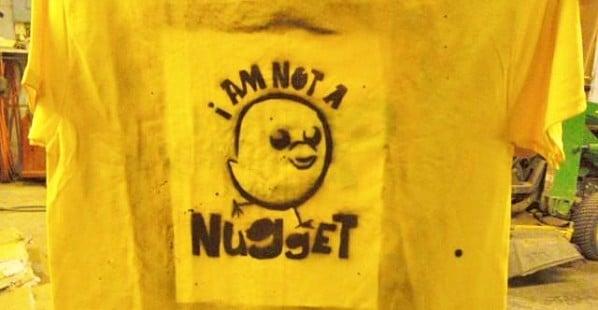 Nugget Stencil Shirt