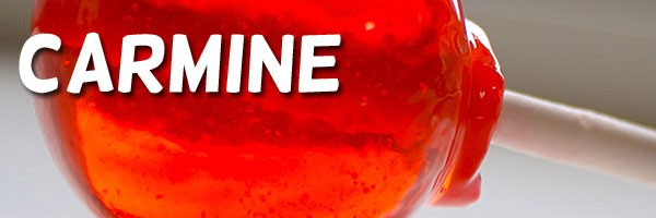 Red Lollipop Sucker Carmine