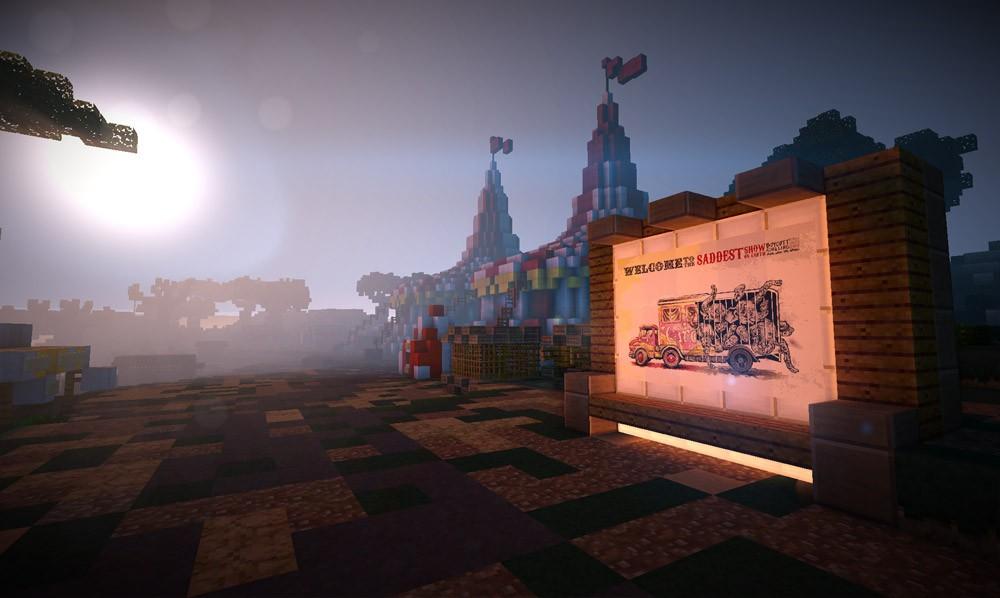 PETA Minecraft Circus Area