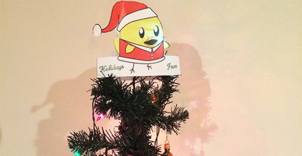 Santa Nugget Tree Topper Photo