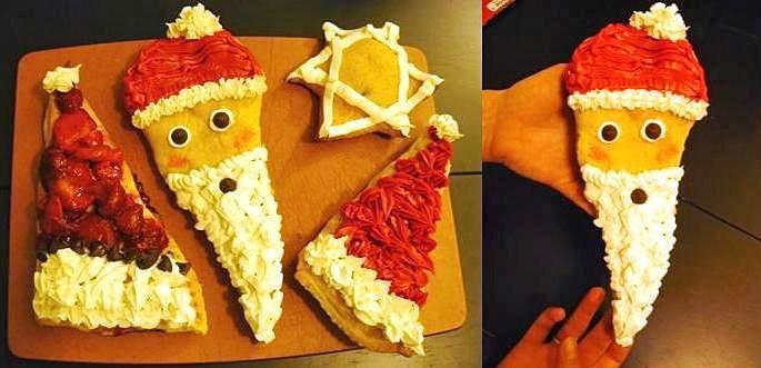 Holiday Santa Hat Pies