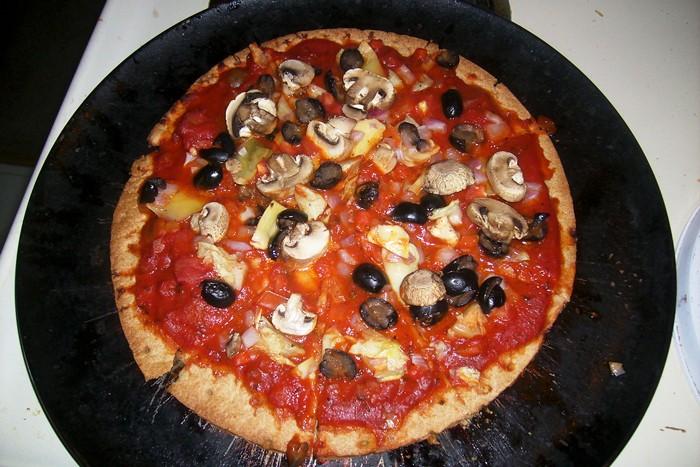 Vegan-Cheeseless-Pizza
