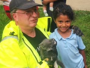 Meet the Kindergartener Who Saved A Kitten's Life