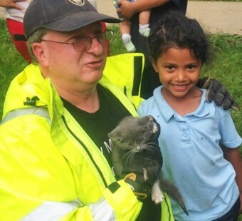 Meet the Little Girl Who Saved a Cat's Life