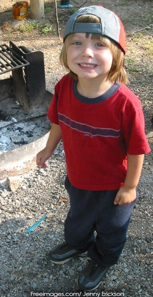 Boy-Camping