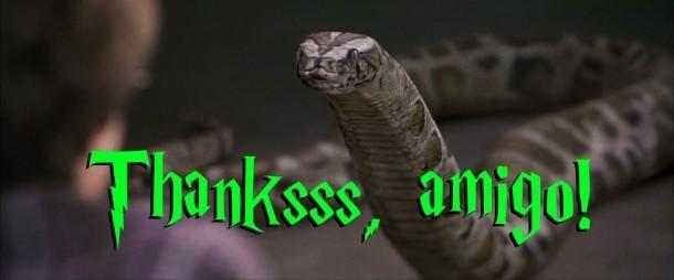 Harry Potter Snake Zoo