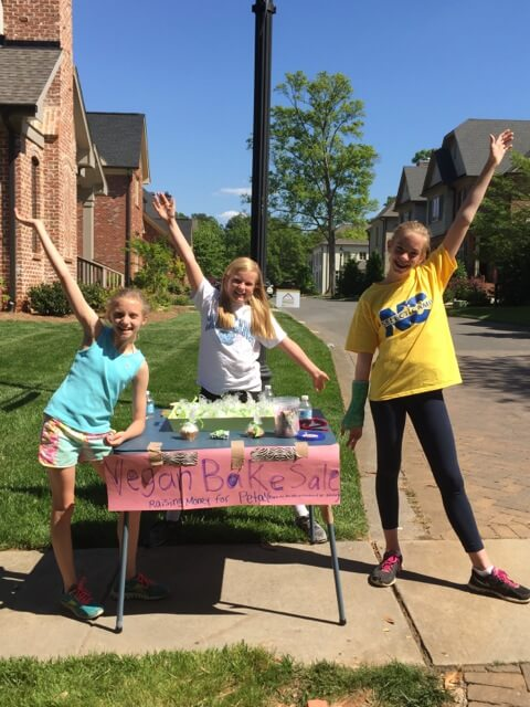 Bake Sale (4th Graders from Charlotte, NC)