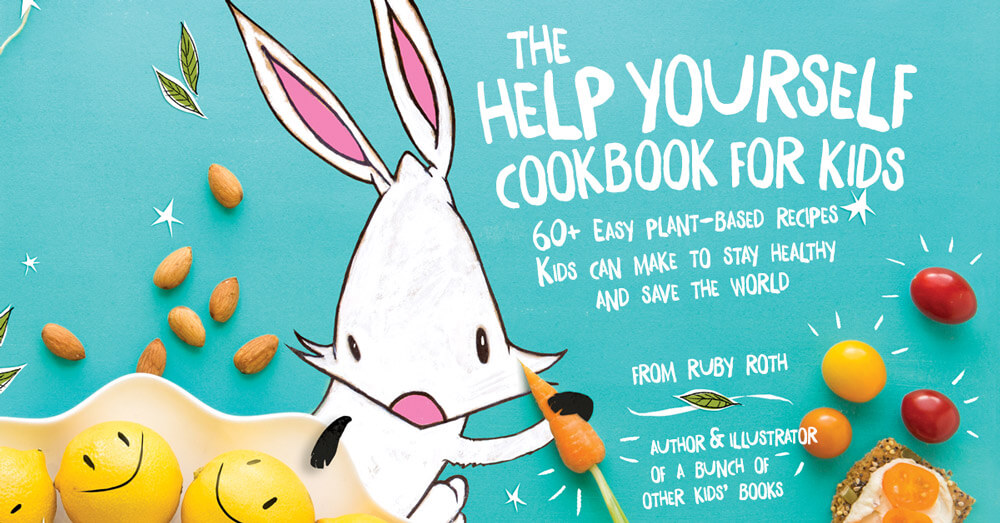 help yourself ruby roth cookbook promo
