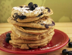 Drool-Worthy Blueberry Pancakes