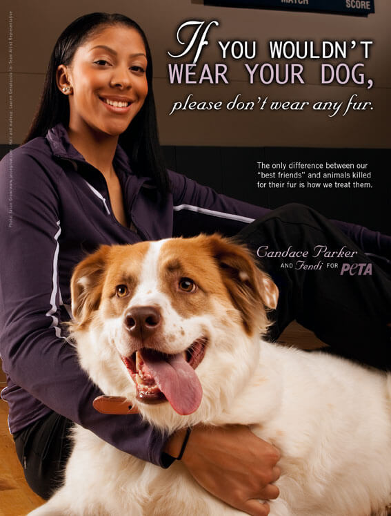 Candace Parker Ad
