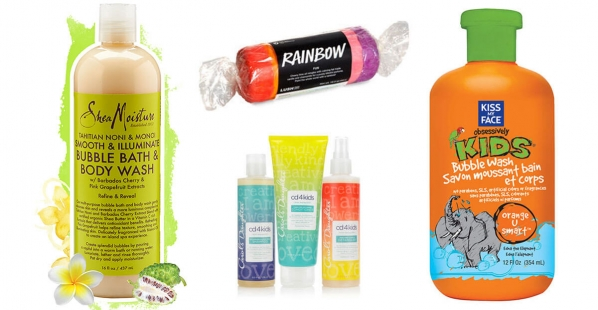 Bath Products Collage
