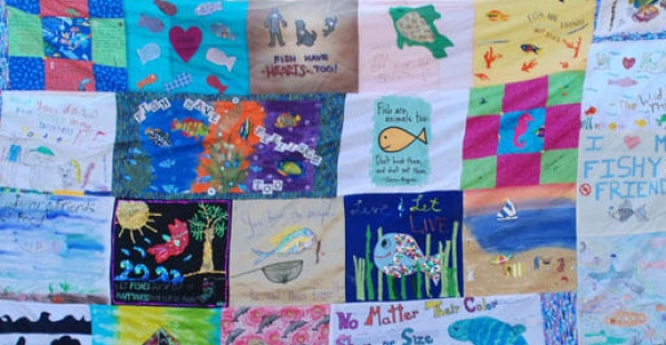 Help Us Grow the World's First Fish Empathy Quilt