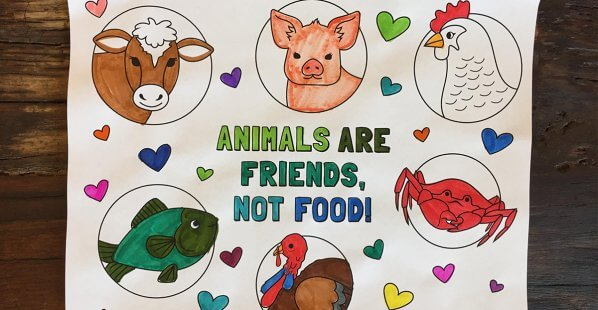 Free Animal-Friendly Coloring Pages!