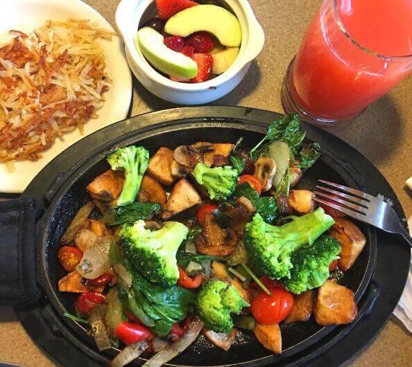 Denny S Open For Vegan Food 24 7 Food Peta Kids