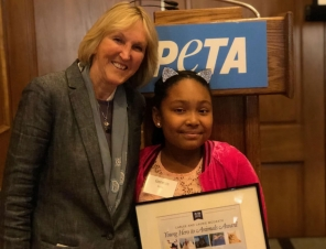 Genesis Butler Continues to Rock the World for Animals!