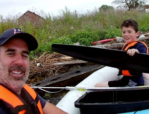 Father and Son Create 'Trash Fishing' to Save Animals!