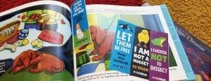 Print PETA Kids Bookmarks!