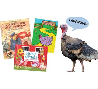 Turkey-Friendly Books for Thanksgiving