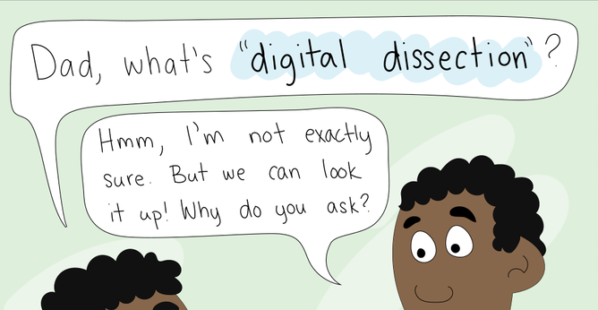 PETA Kids Comic: The Difference Between Animal Dissection and Animal-Free Tools