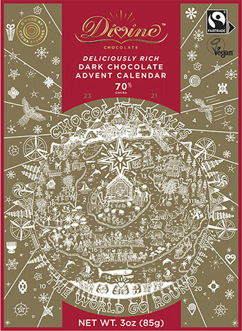 Divine Chocolate Vegan Advent Calendar