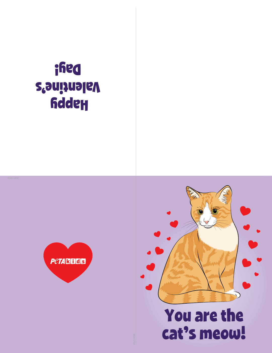 Cat Valentine's Day Cards