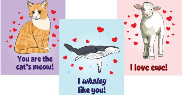 PETA Kids Valentine's Day Cards