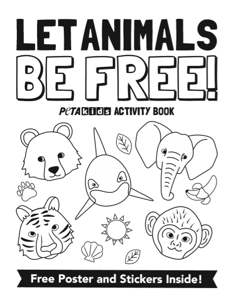 front cover of the circus activity book