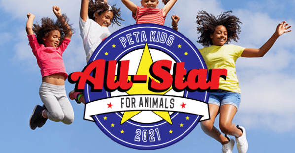It's PETA Kids' 'All-Star for Animals' Contest 2021—Vote Now!